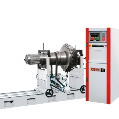 CEMB Hofmann supplies this machine for rotors up to 6000 kg